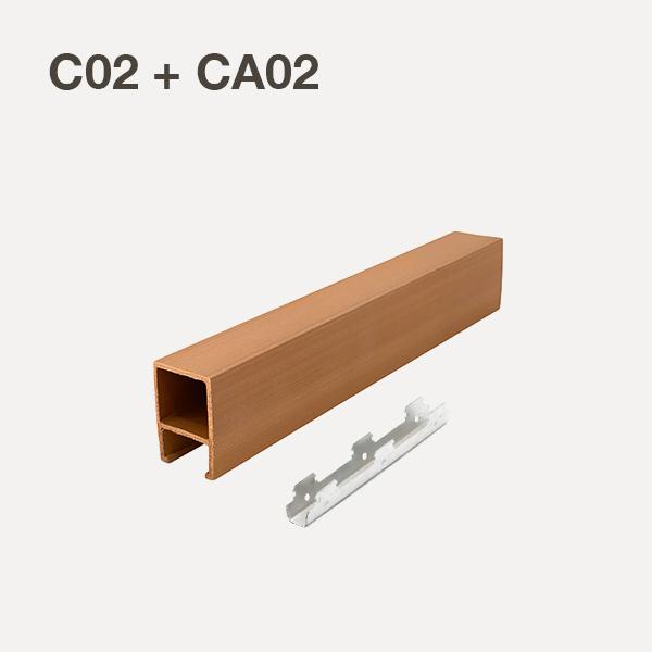 C02+CA02-Oak