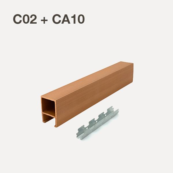 C02+CA10-Oak