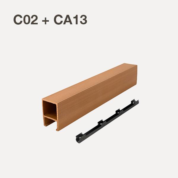 C02+CA13-Oak